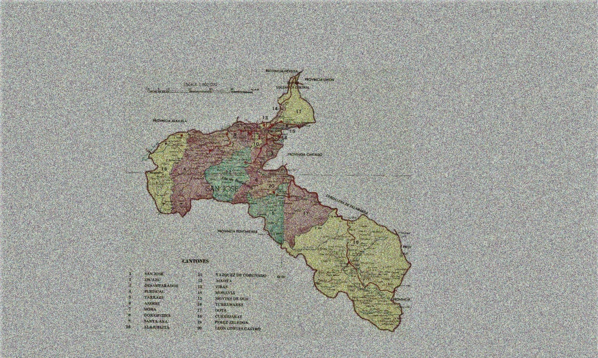 Mapping Language: Districts of San José